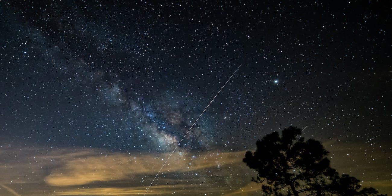 Spot The Station + Milky Way
