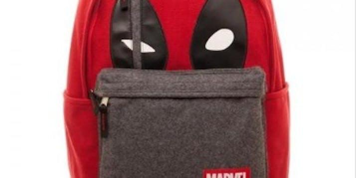 Marvel Deadpool Hidden Quote Backpack