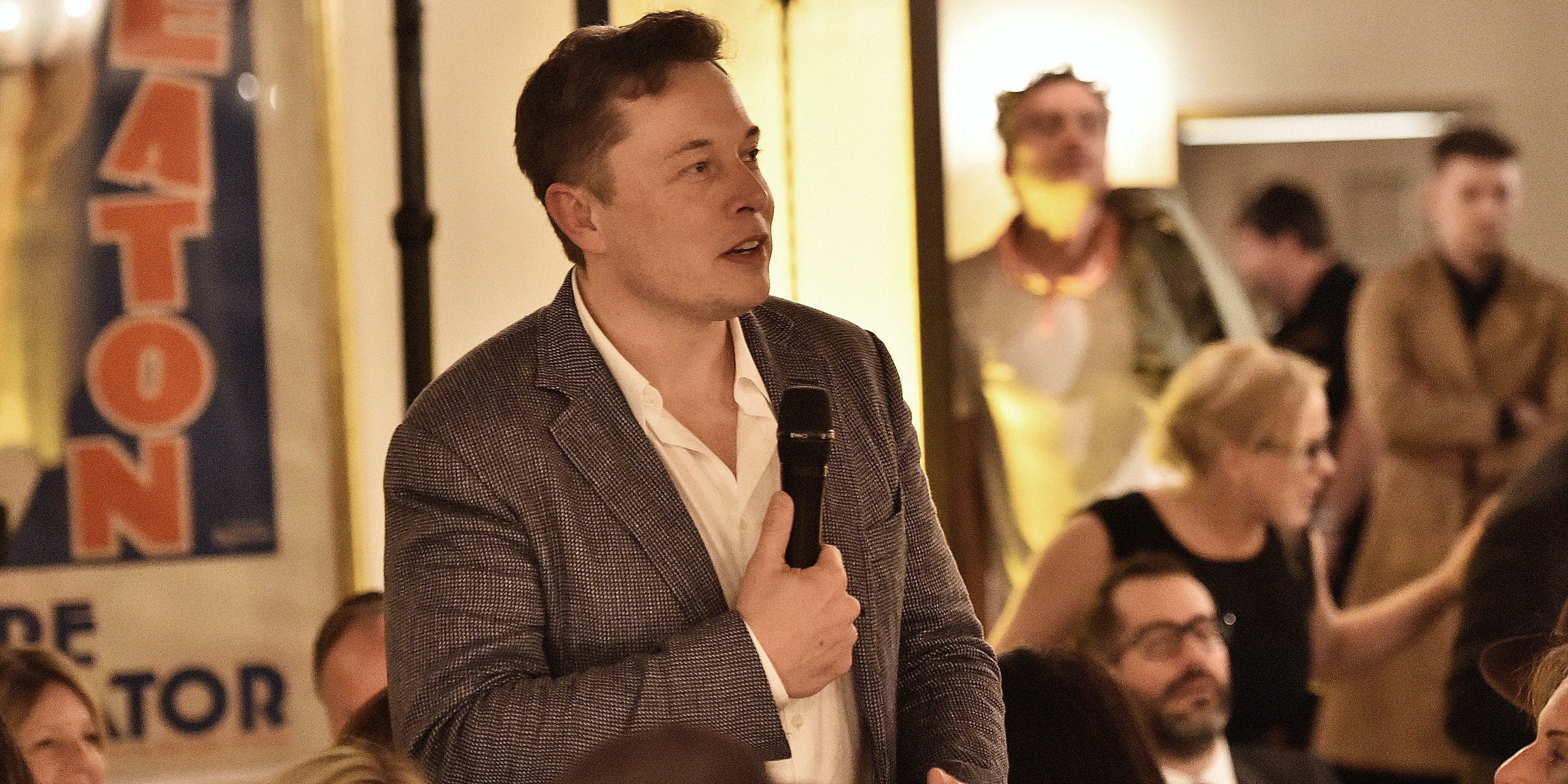 Elon Musk says the Google DeepMind win represents a ten-year leap in artificial intelligence.