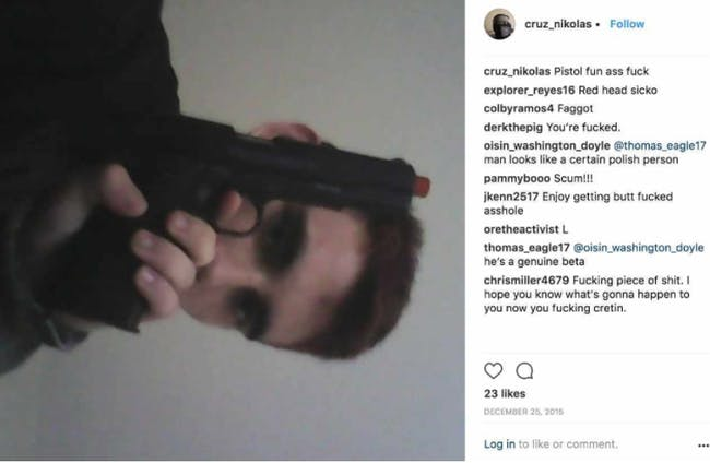 Nikolas Cruz Instagram