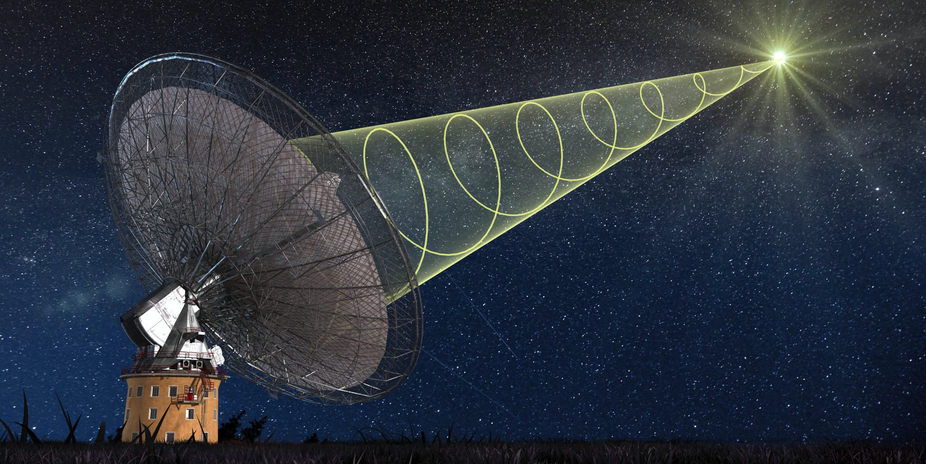 The brightest FRB ever recorded was discovered using CSIRO's Parkes Radio Telescope.