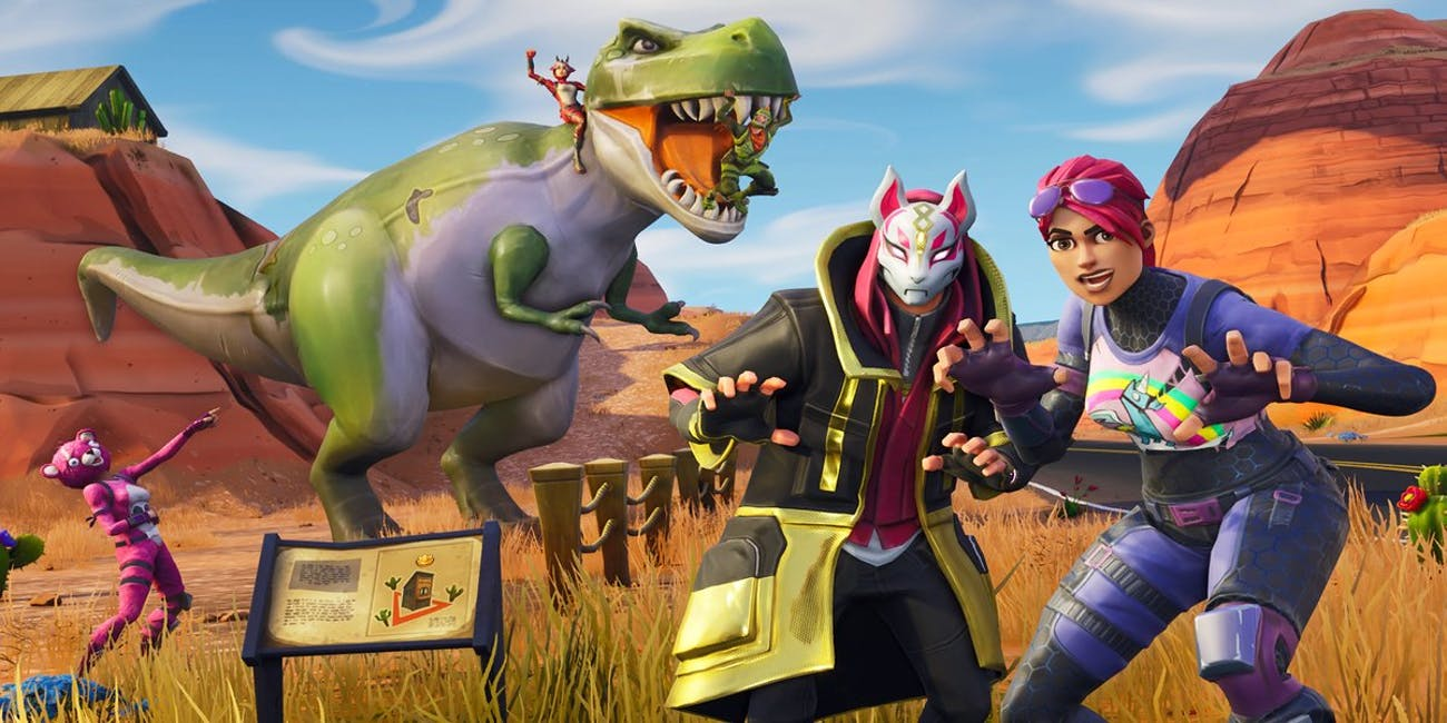 'Fortnite' Week 5 Road Trip Challenge Loading Screen
