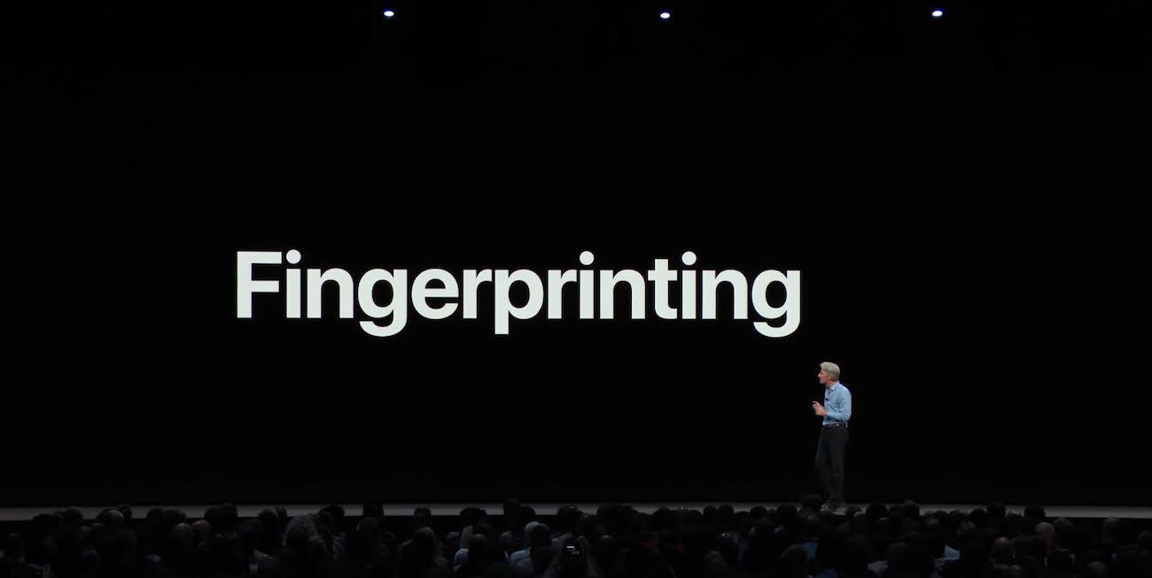 WWDC Fingerprinting