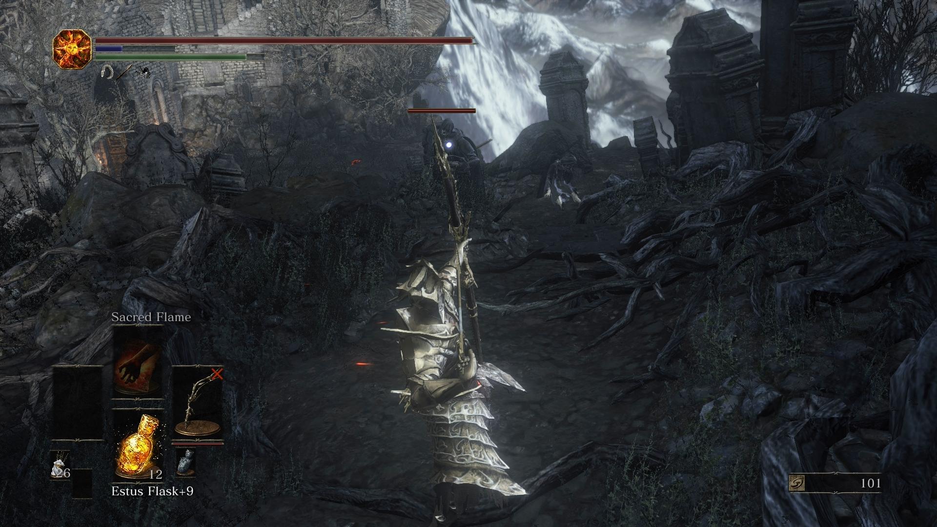 Dark Souls  Spear Miracle Build