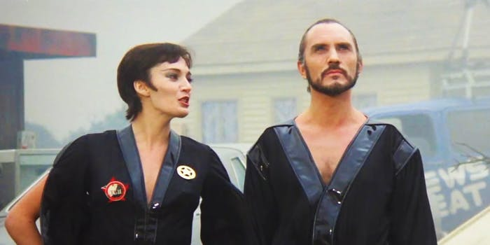 General Zod and Ursa in 'Superman II'