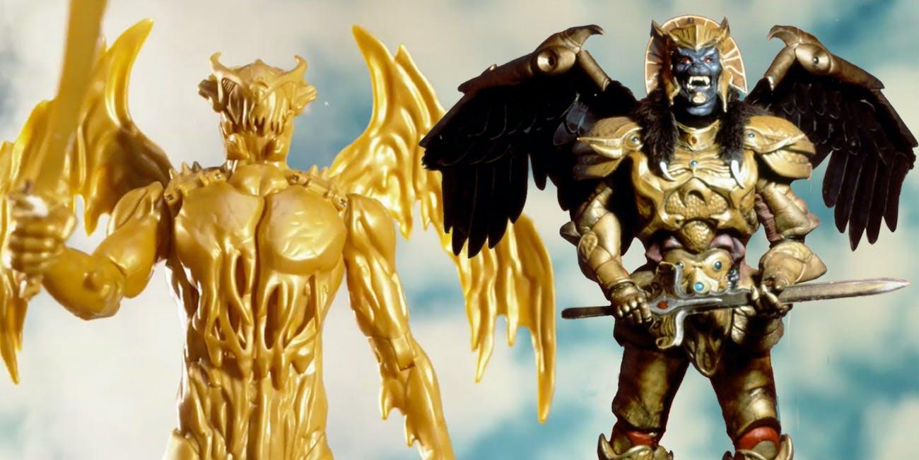 Goldar Power Rangers Movie