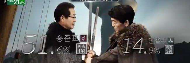 Moon Jae In Game of Thrones Memes