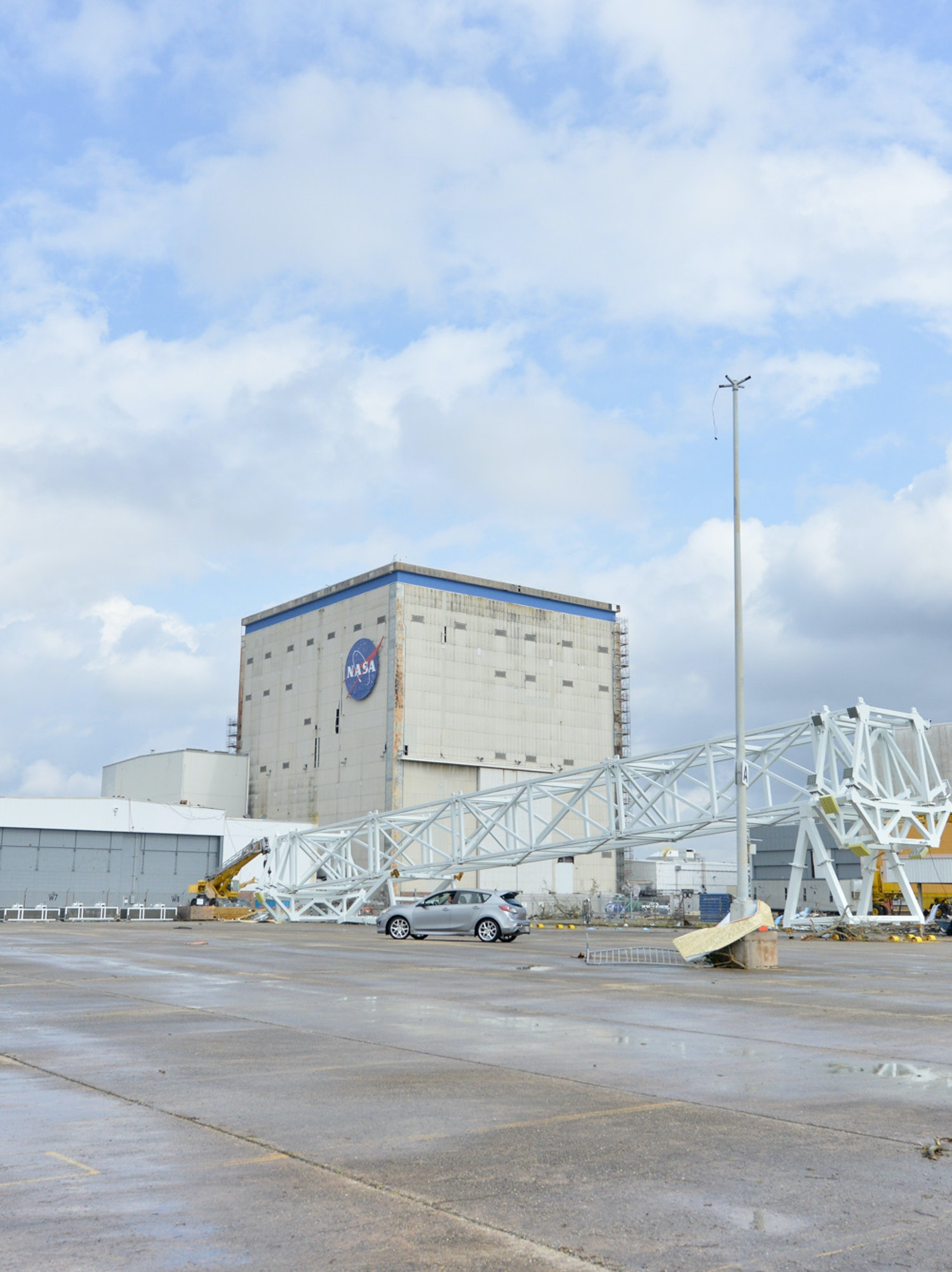 A tornado hit NASA's Michoud Assembly Facility in New Orleans Tuesday morning, and recovery is now underway.