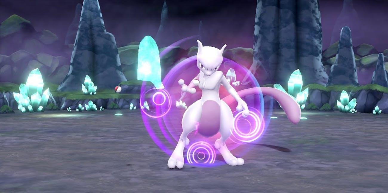 'Pokemon, Let's Go' Mewtwo