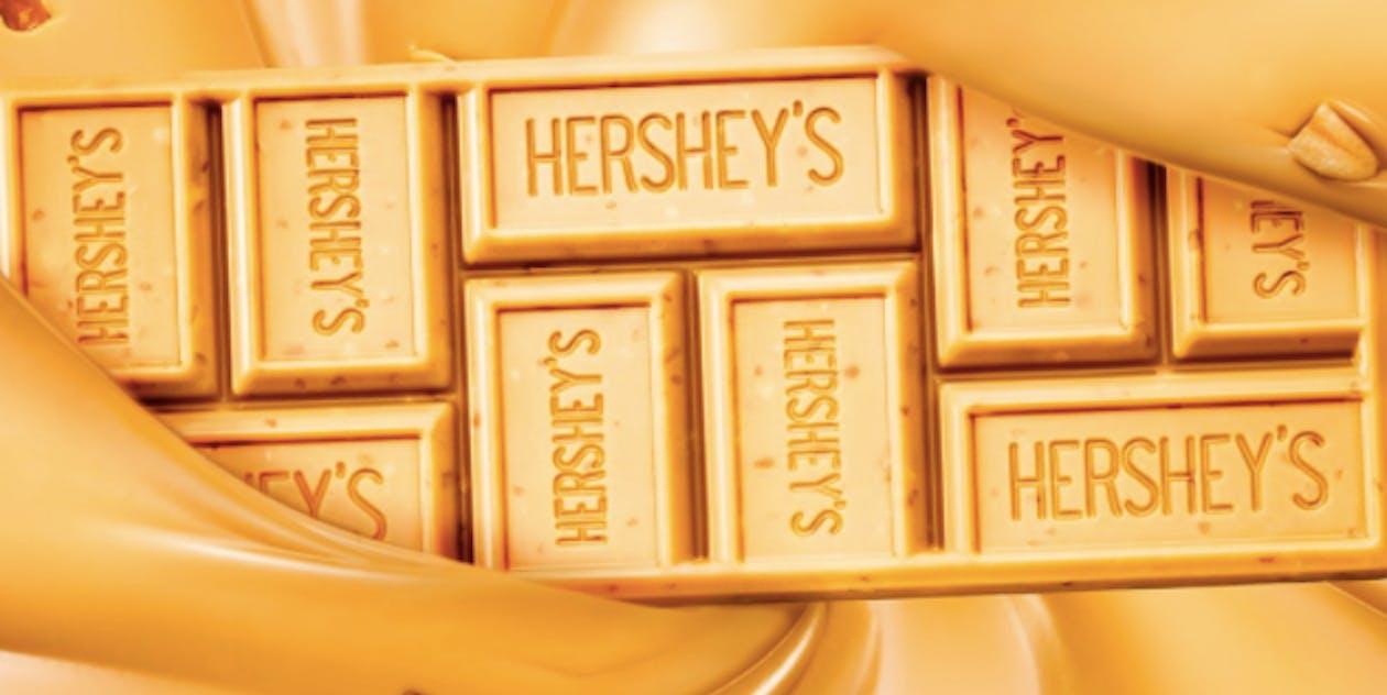 hershey gold bar