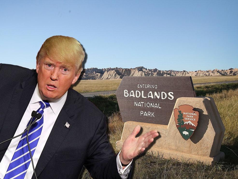 Badlands National Park Tweets Climate Change Science, Defies Trump