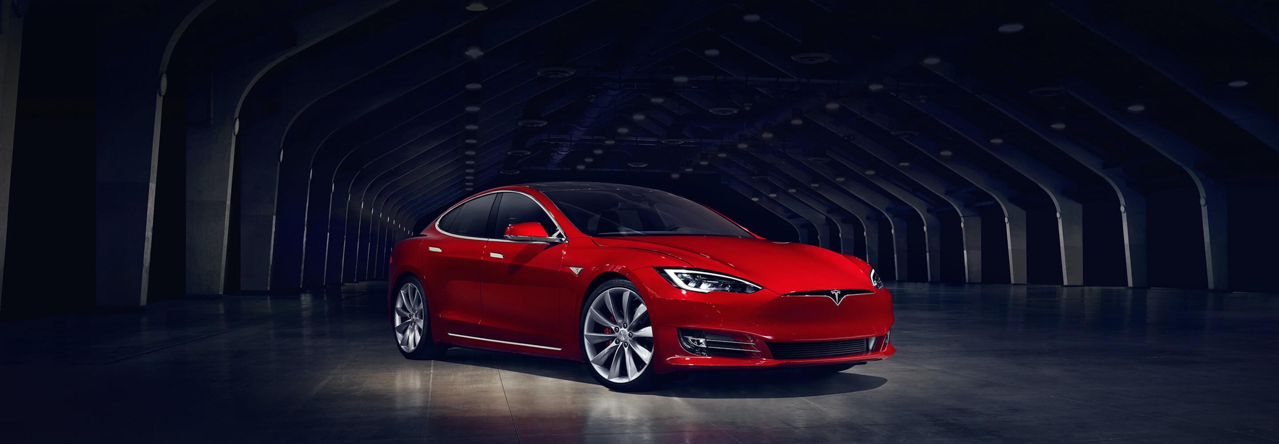 The Tesla Model S.