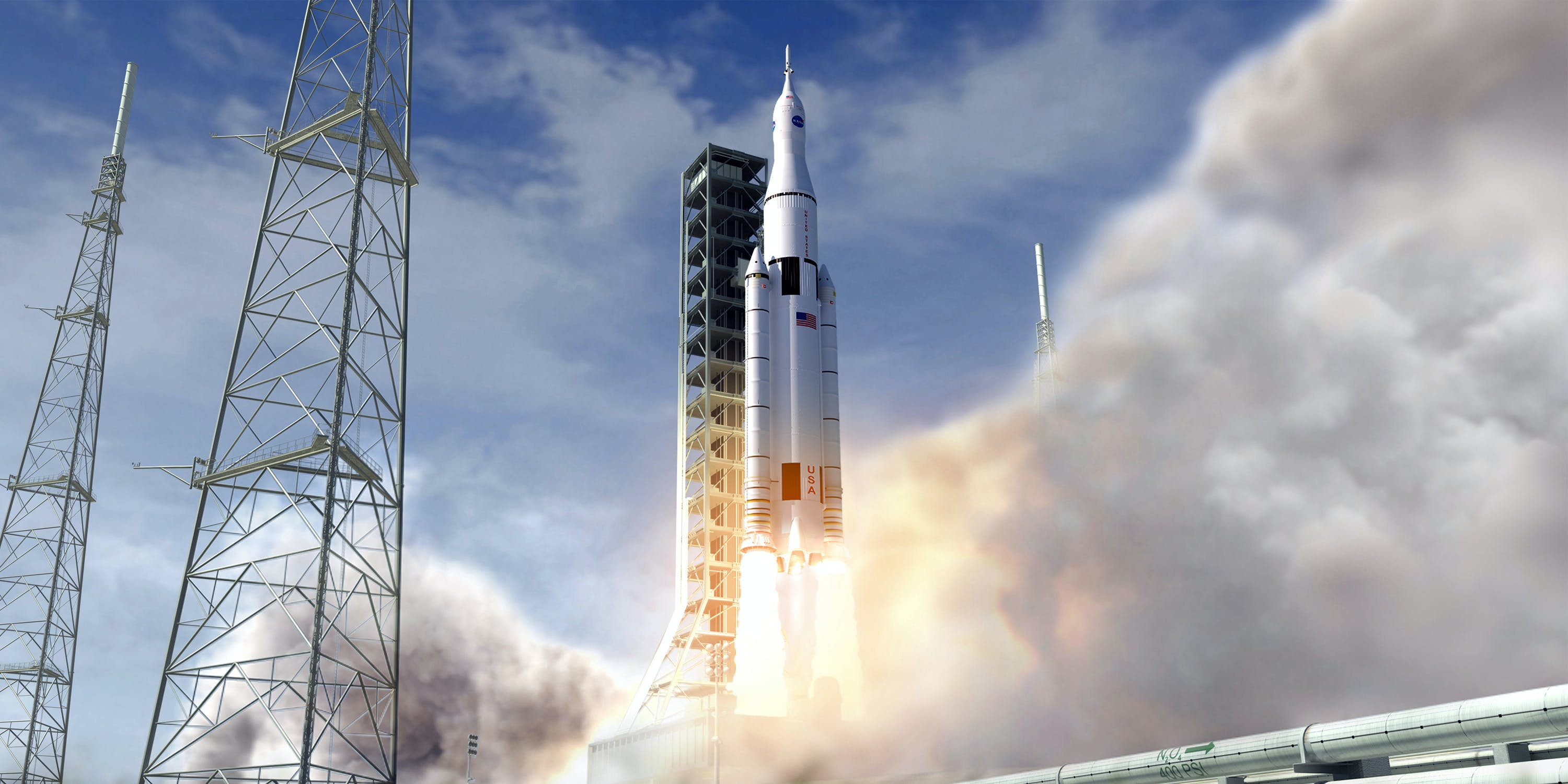 Concept: Space Launch System Launch (NASA, Space Launch System, 06/28/12)