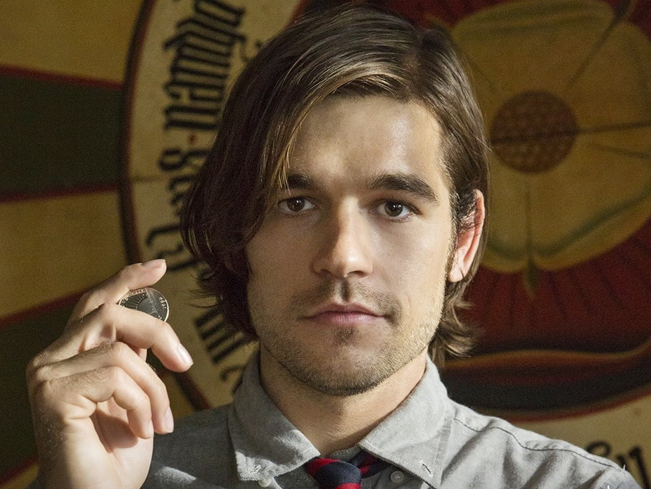 Jason Ralph as Quentin Coldwater in Syfy's 'Tha Magicians.'