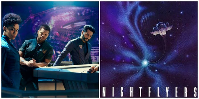 LEFT: 'The Expanse,' RIGHT: The original 'Nightflyers'
