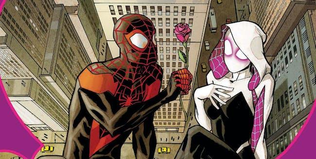 Morales's Spider-Man woos Spider-Gwen