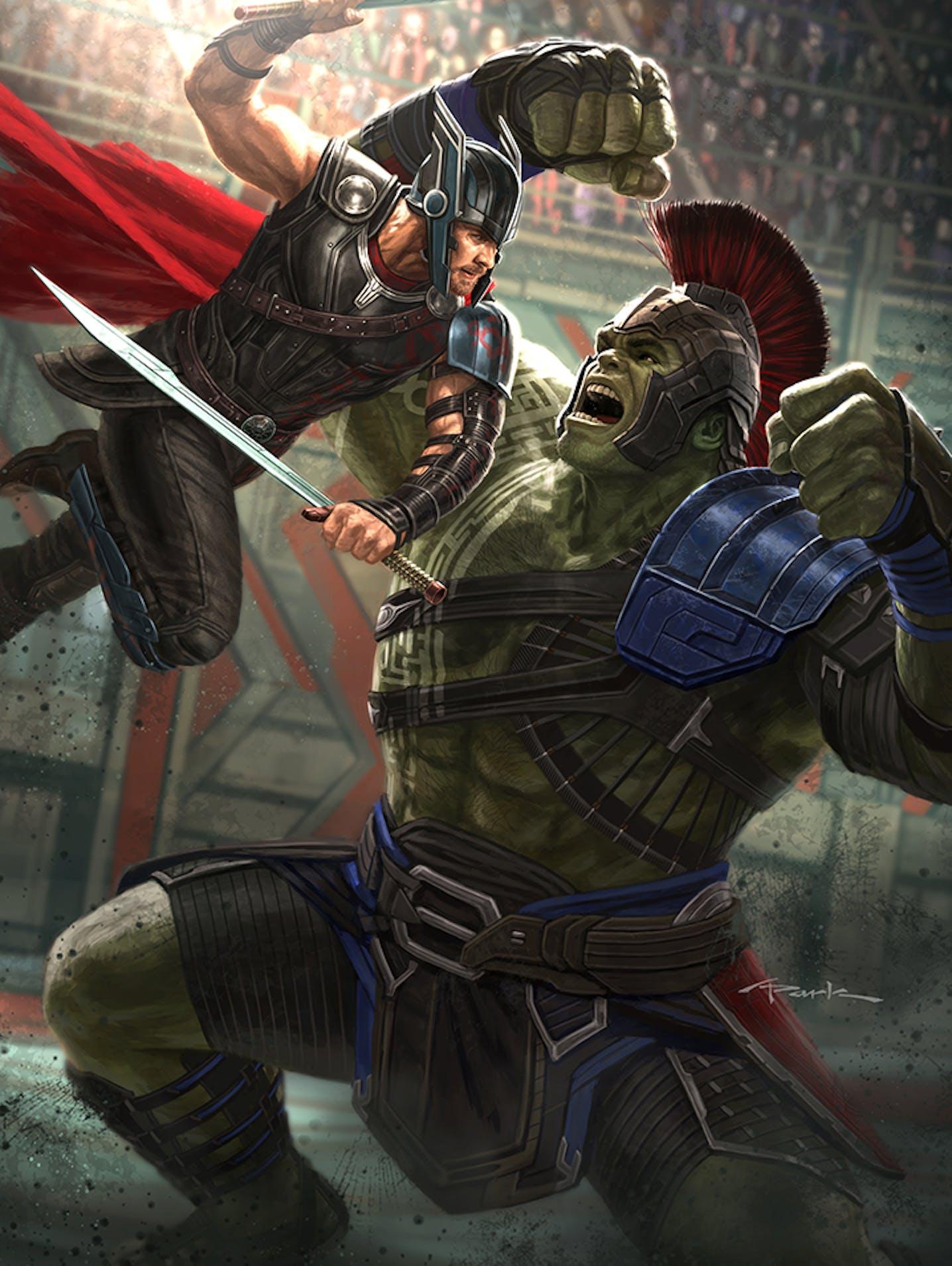 avengers: infinity war' concept artist reveals how to build a