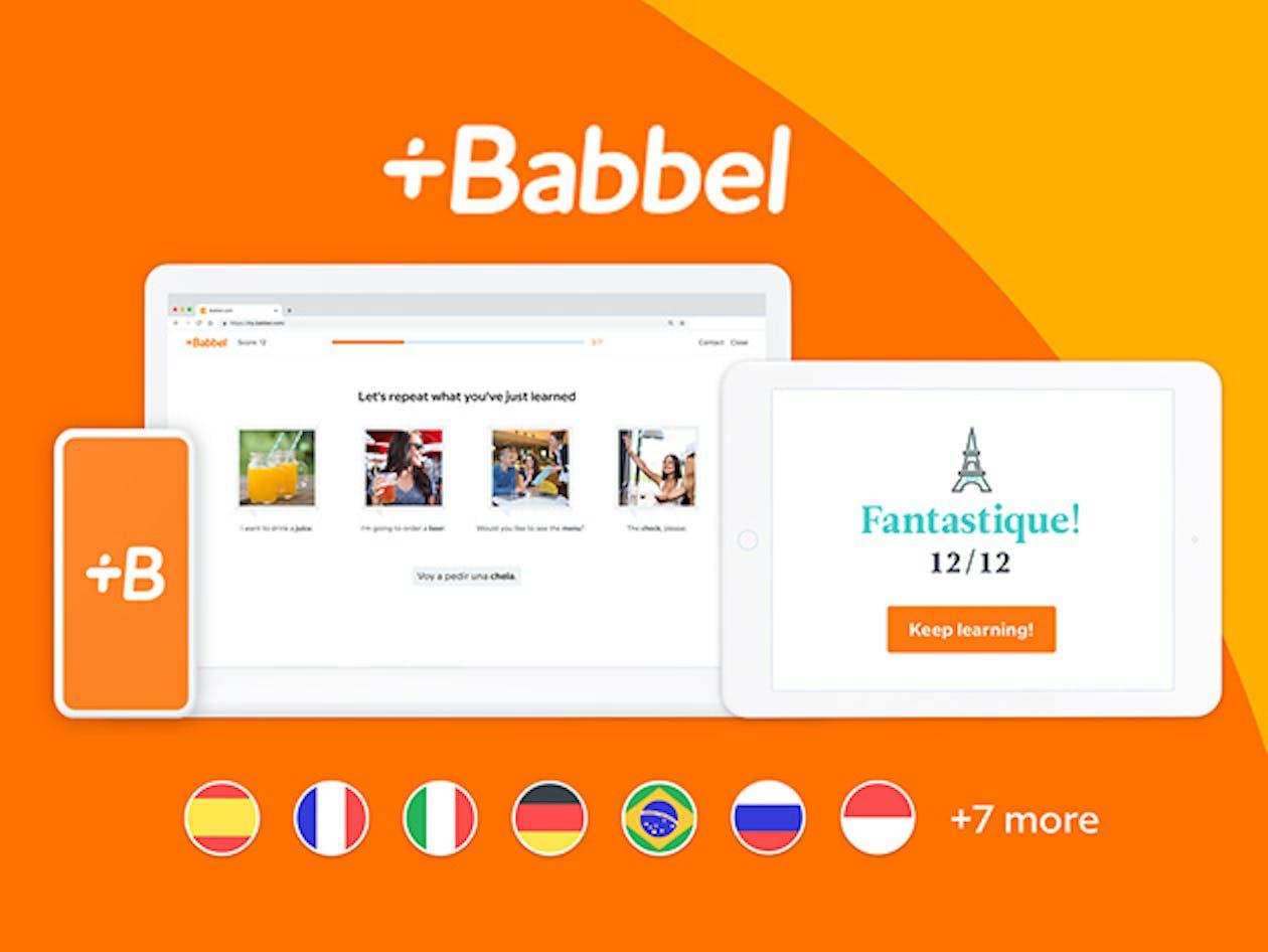 Babbel Language Learning: Lifetime Subscription | Inverse