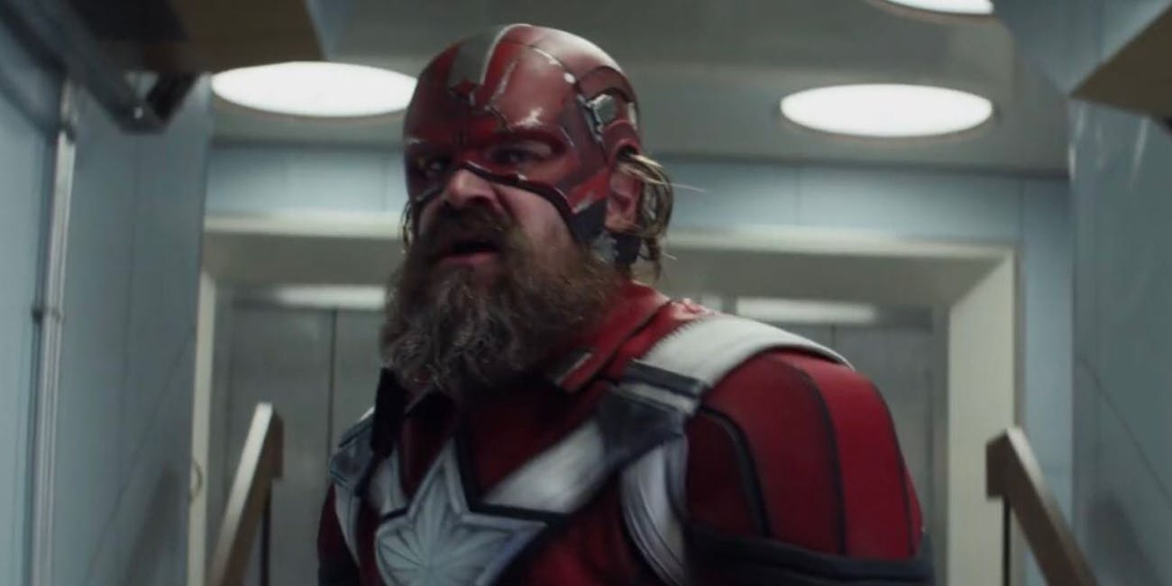 David Harbour plays the Red Guardian.