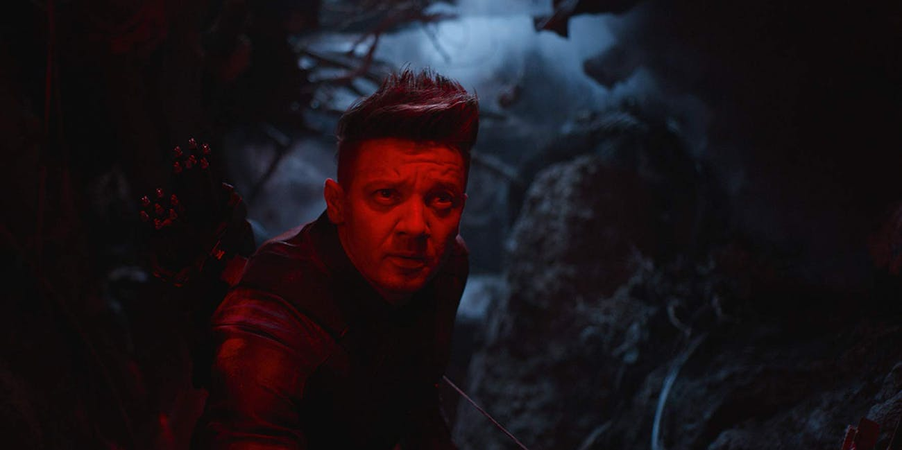 Jeremy Renner as Hawkeye in 'Avengers: Endgame' (2019)
