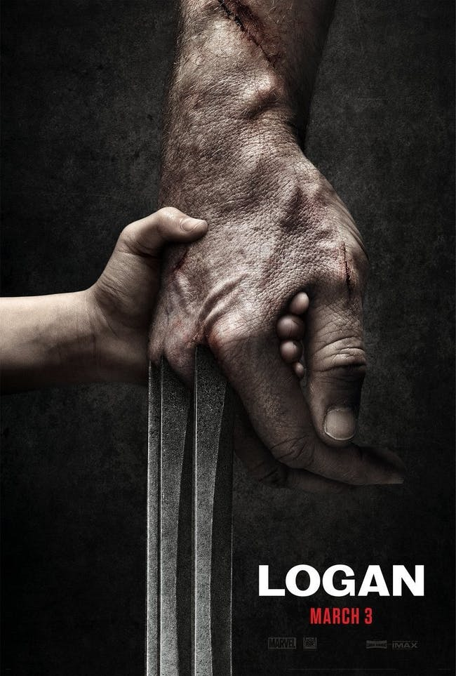 The poster for 'Logan,' out on March 3.