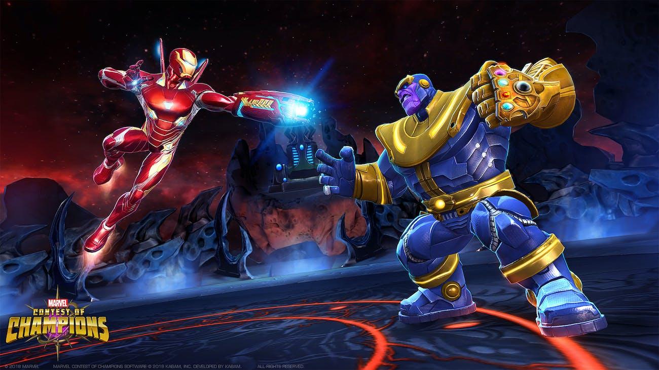 Contest of Champions Infinity War Iron Man Thanos