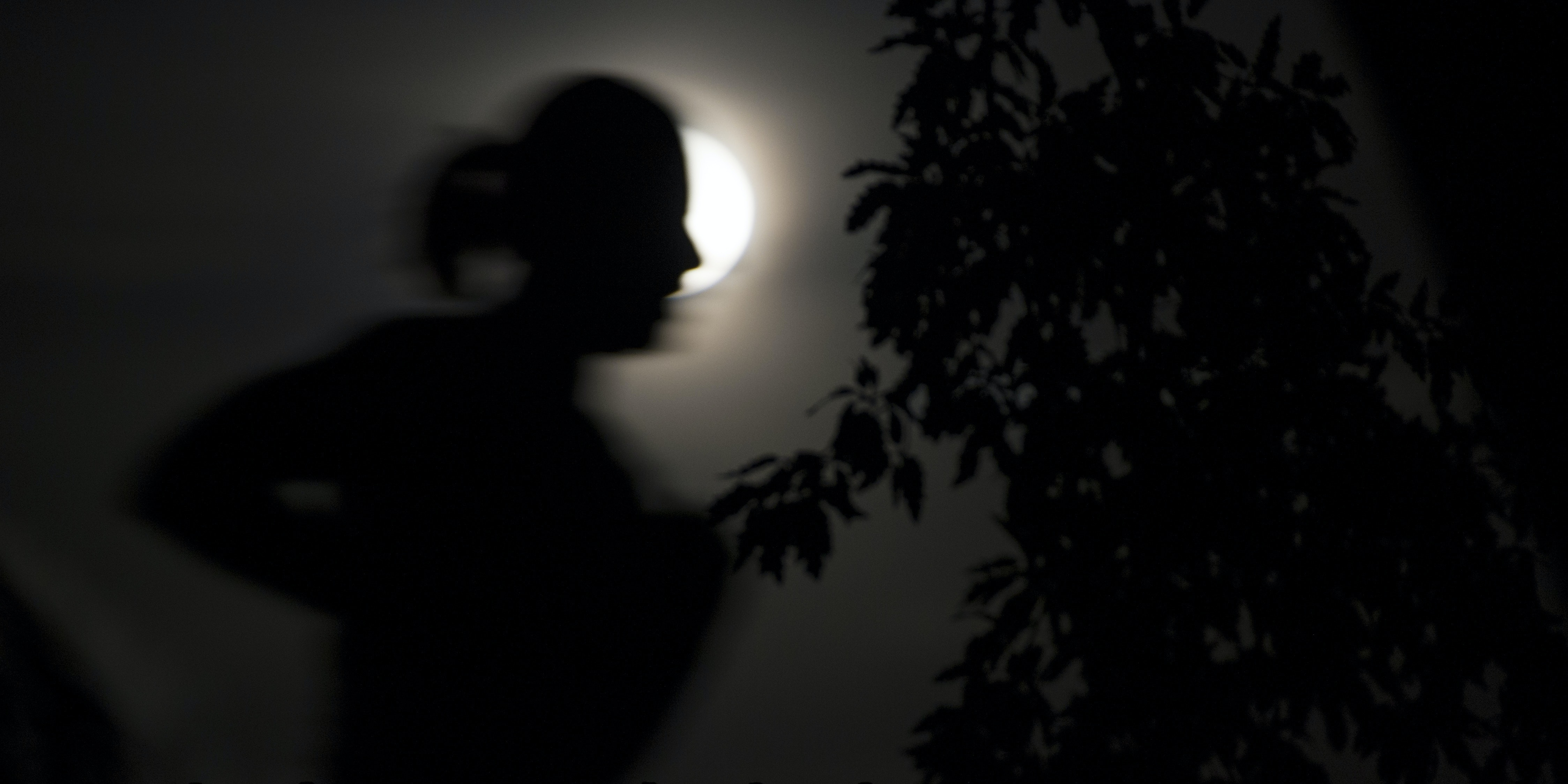 A black moon is a second new moon in a month.