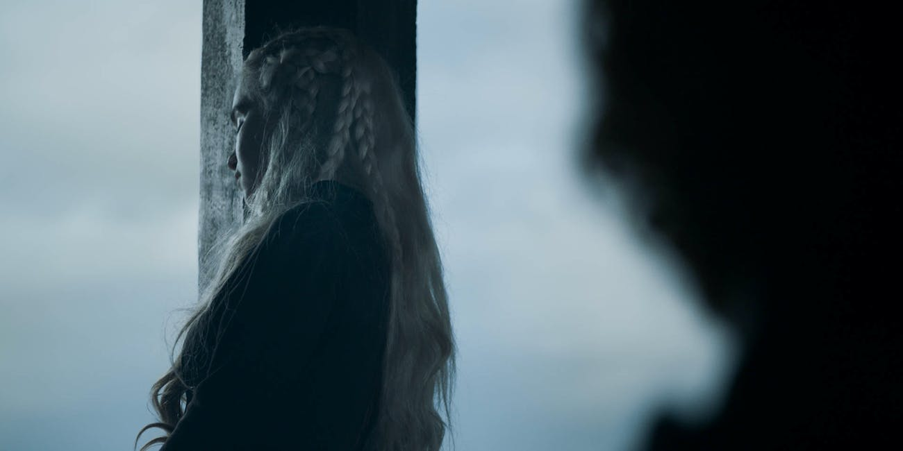 What does Daenerys know? Emilia Clarke in Episode 5 of Season 8 of 'Game of Thrones'.