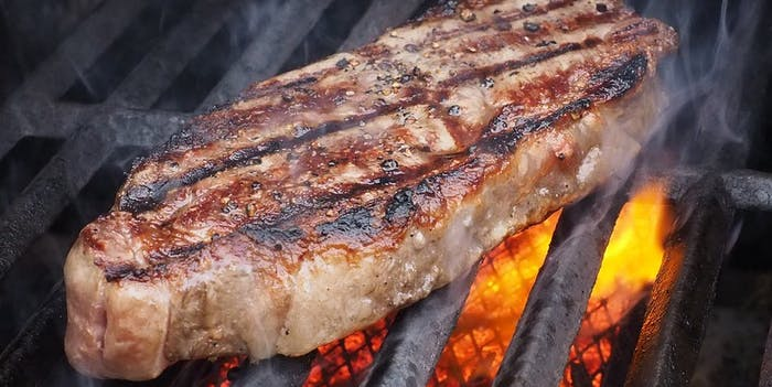 steak how to grill cook barbecue bbq meat frozen thaw char broil