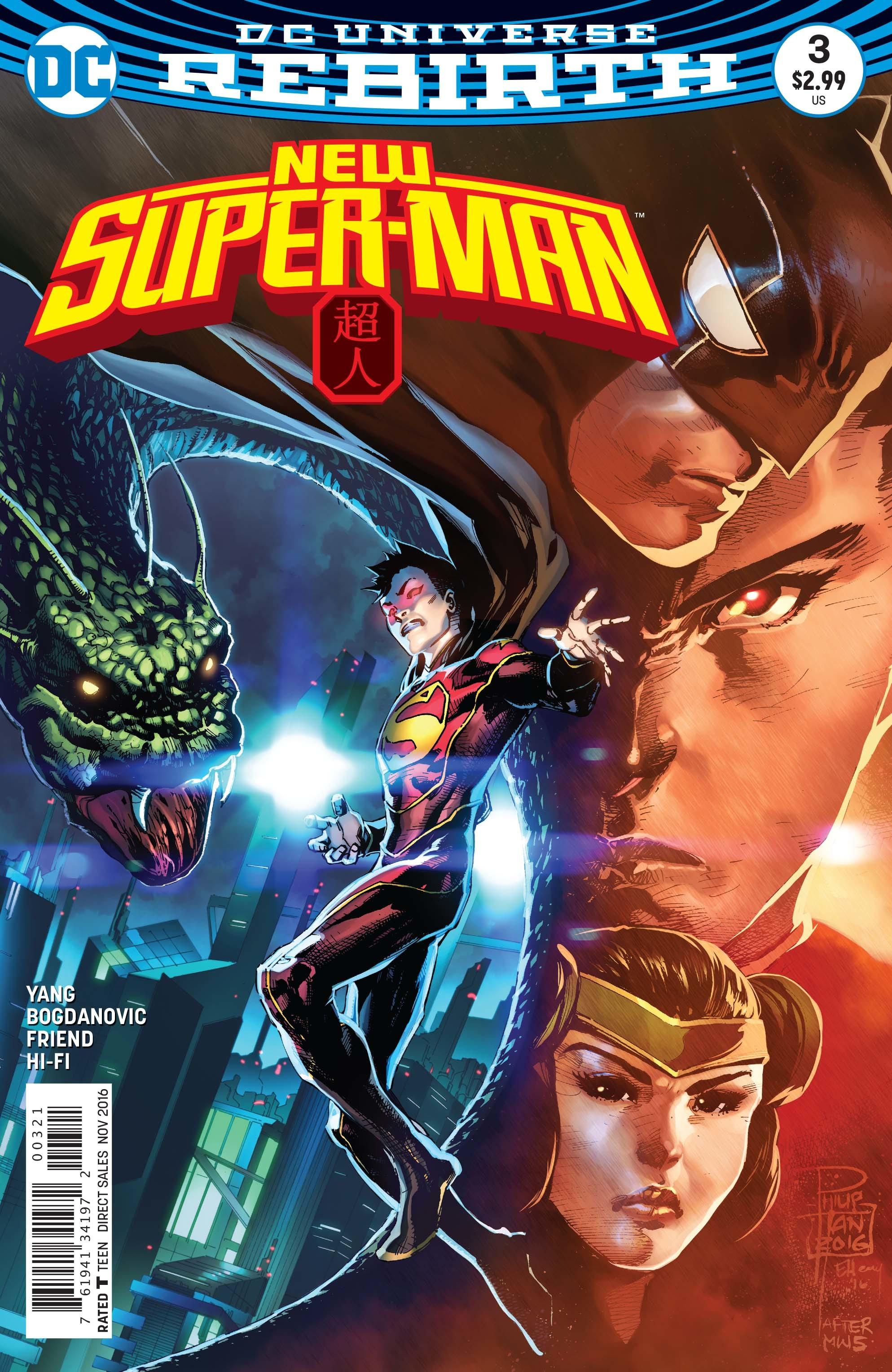 DC Comics 'New Super-Man' Chinese Superman