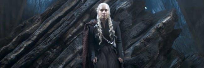 daenerys throne dragonstone