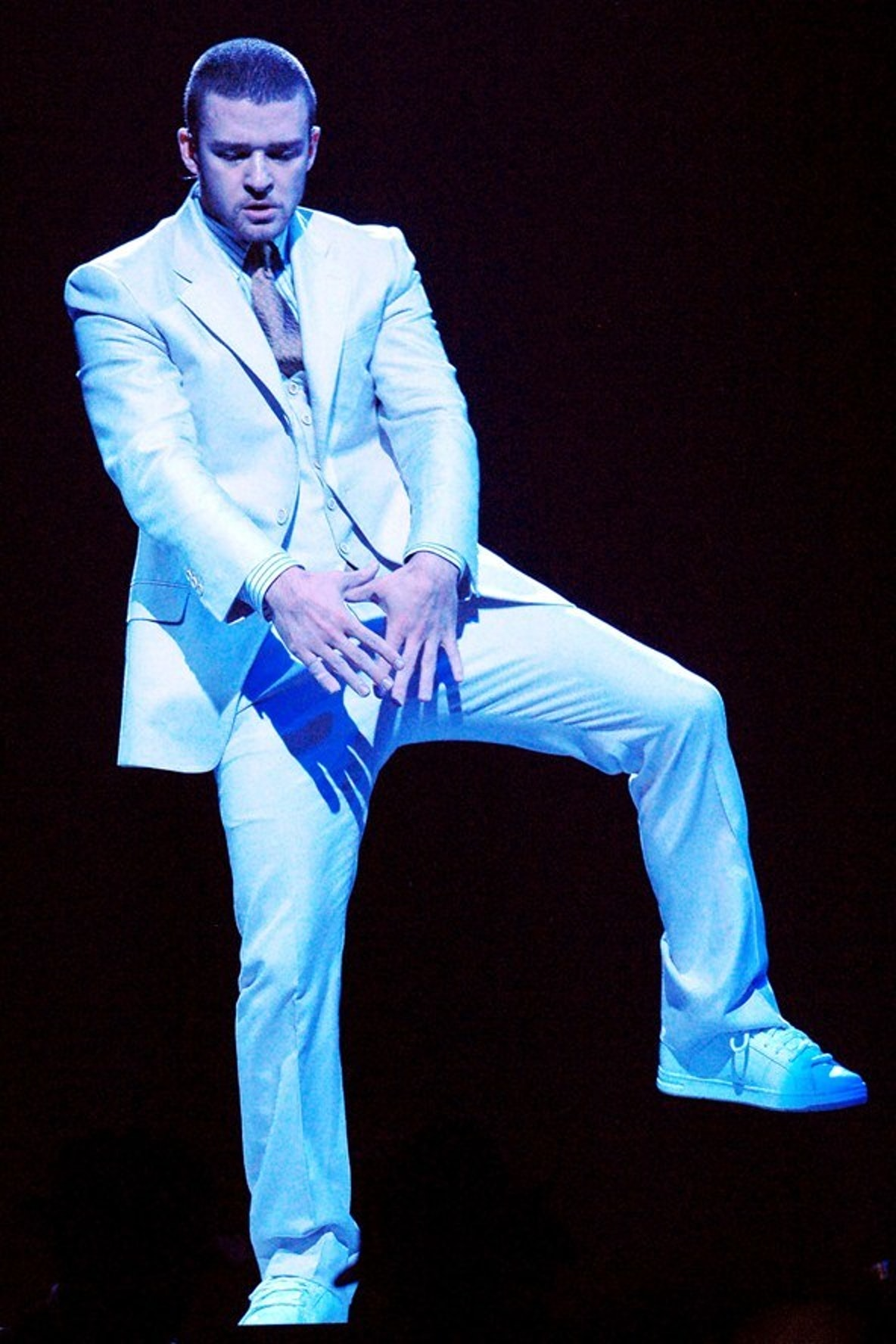 JT on the FutureSex/LoveSounds tour.