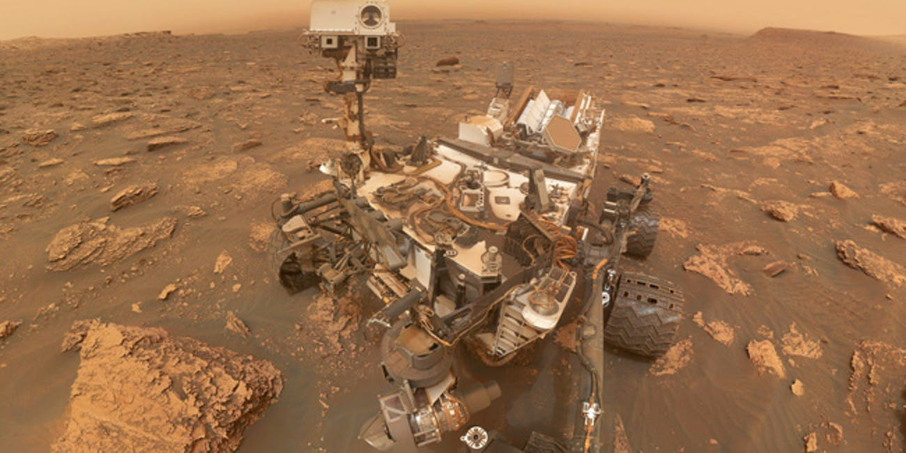 NASA's Curiosity Rover Detects Unusual Cloud of Methane on Mars That Could Mean Life