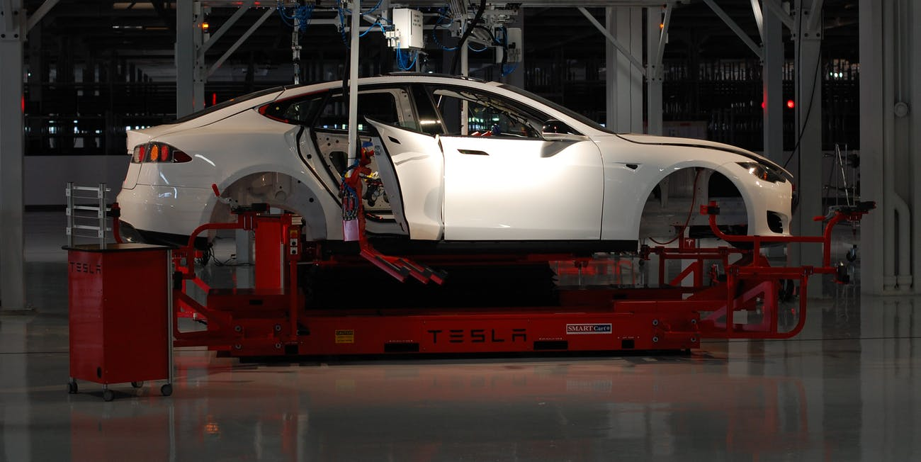 Tesla Production: Elon Musk Uses Colorful Description to