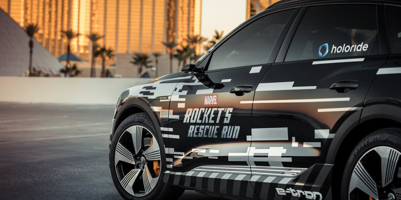 Audi Marvel Rocket's Rescue Run Avengers Endgame