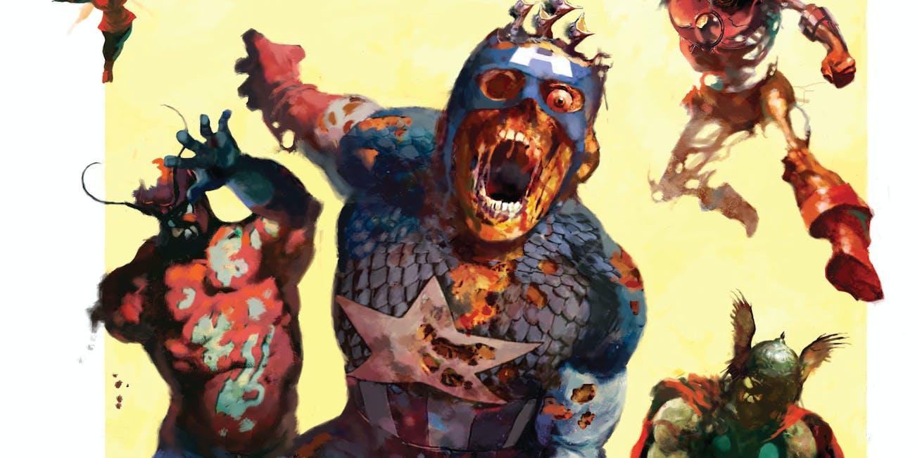 Marvel Zombies Captain America