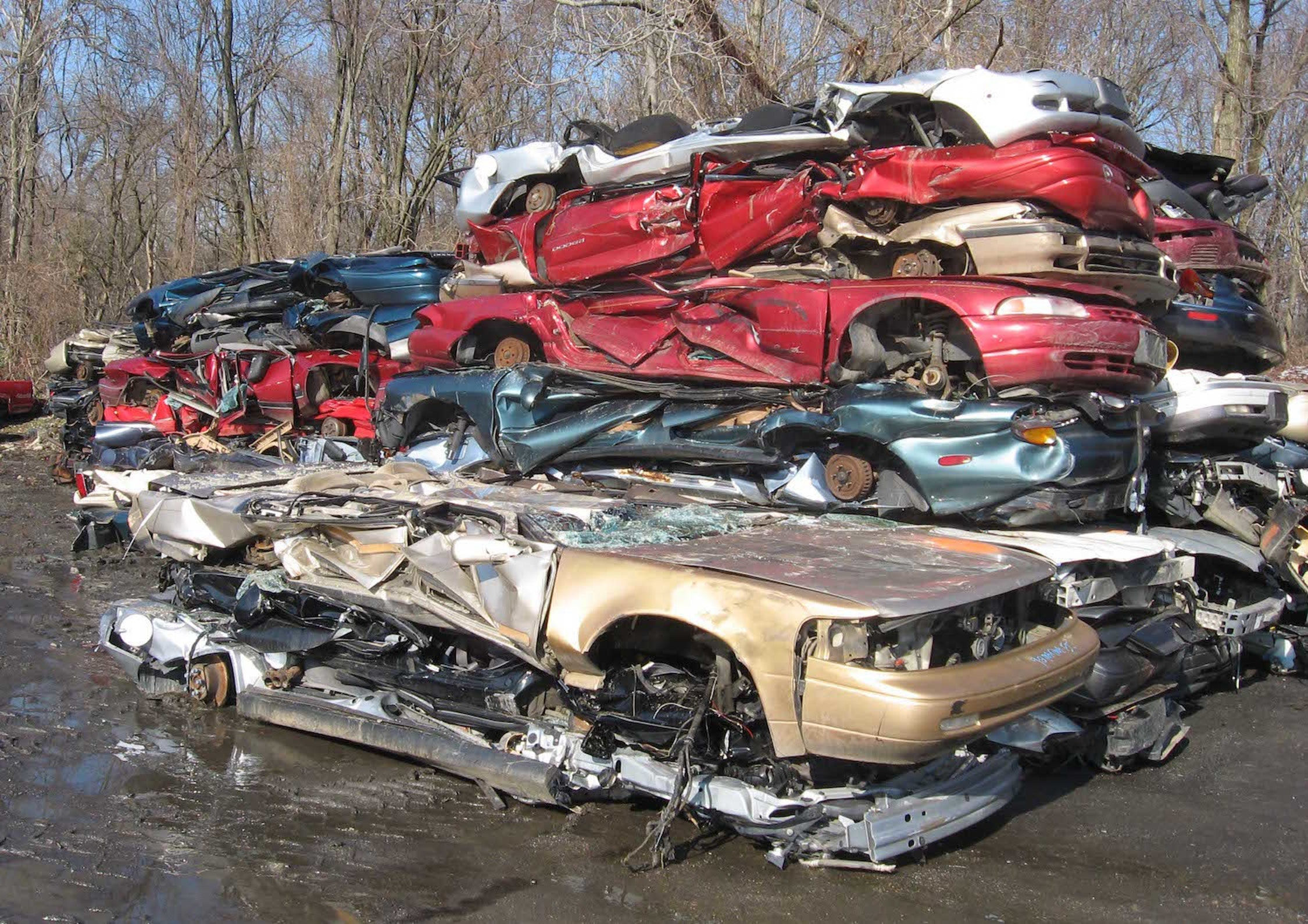 Where gas guzzlers go to die.