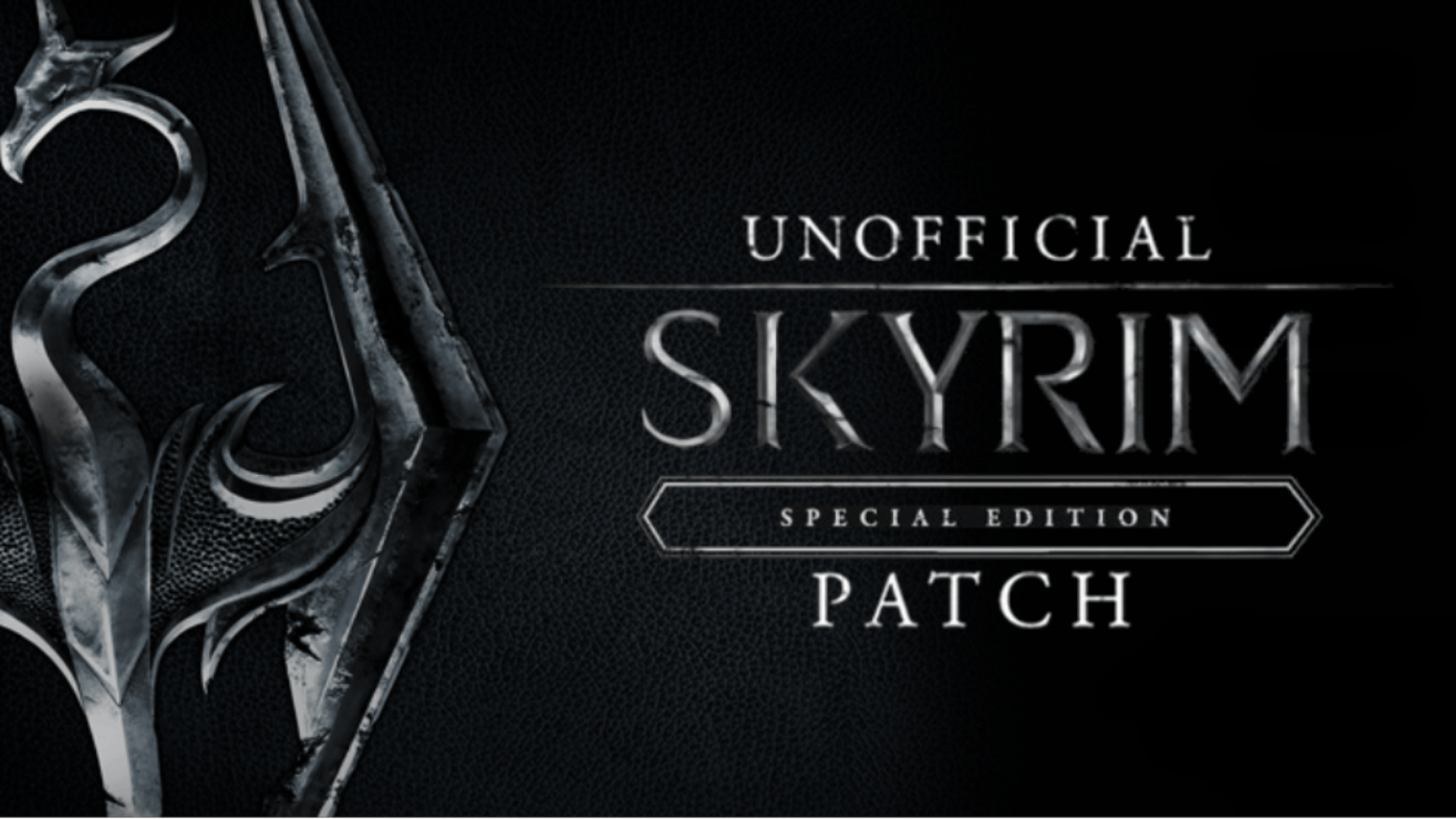 Skyrim Special Edition Unofficial Patch