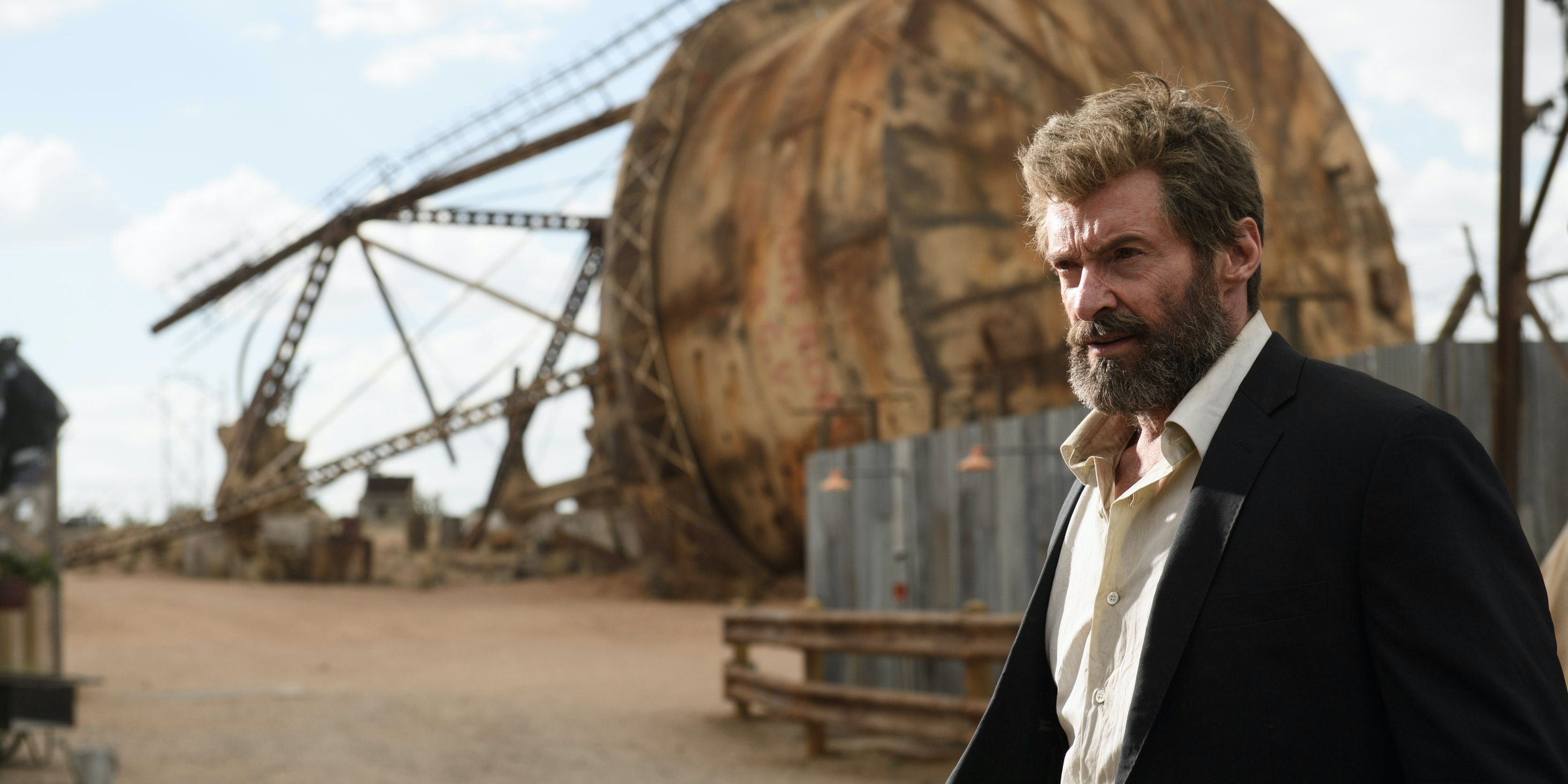 Hugh Jackman as Wolverine in Fox's 'Logan'