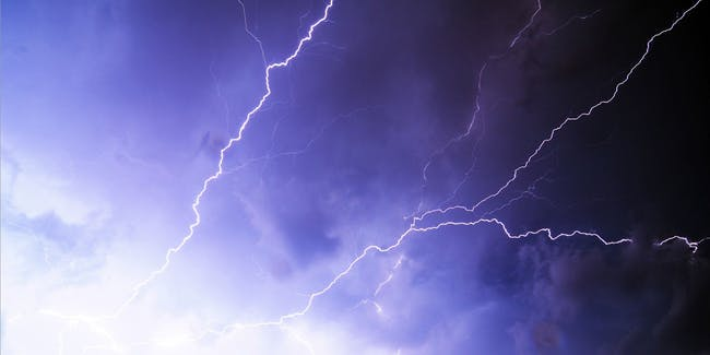 Lightning would be a hell of a stimulant.
