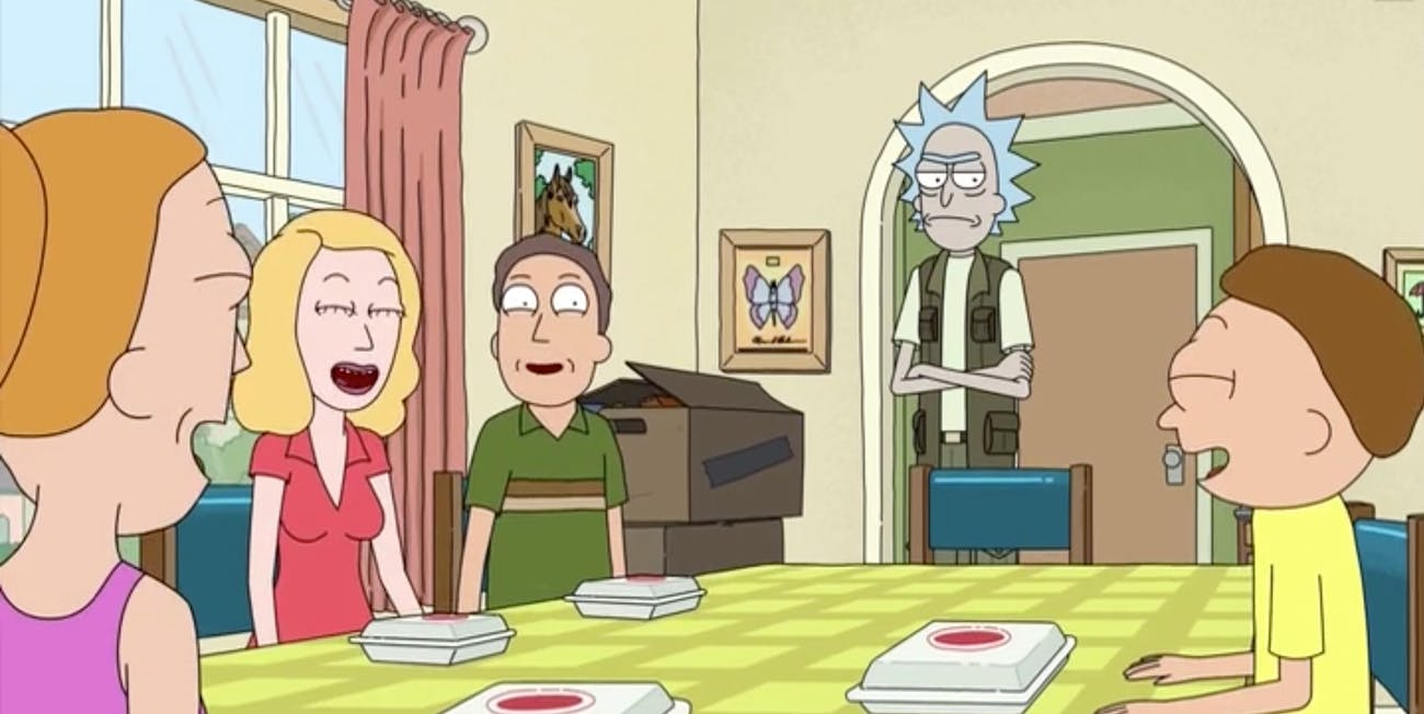 Season 3 ended in laughter, but everybody was laughing at Rick.