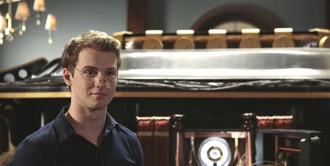 Freddie Stroma as H.H. Wells in 'Time After Time'