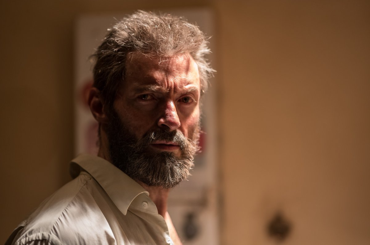 A photo of Hugh Jackman as Logan released by 'Logan' director Jim Mangold.