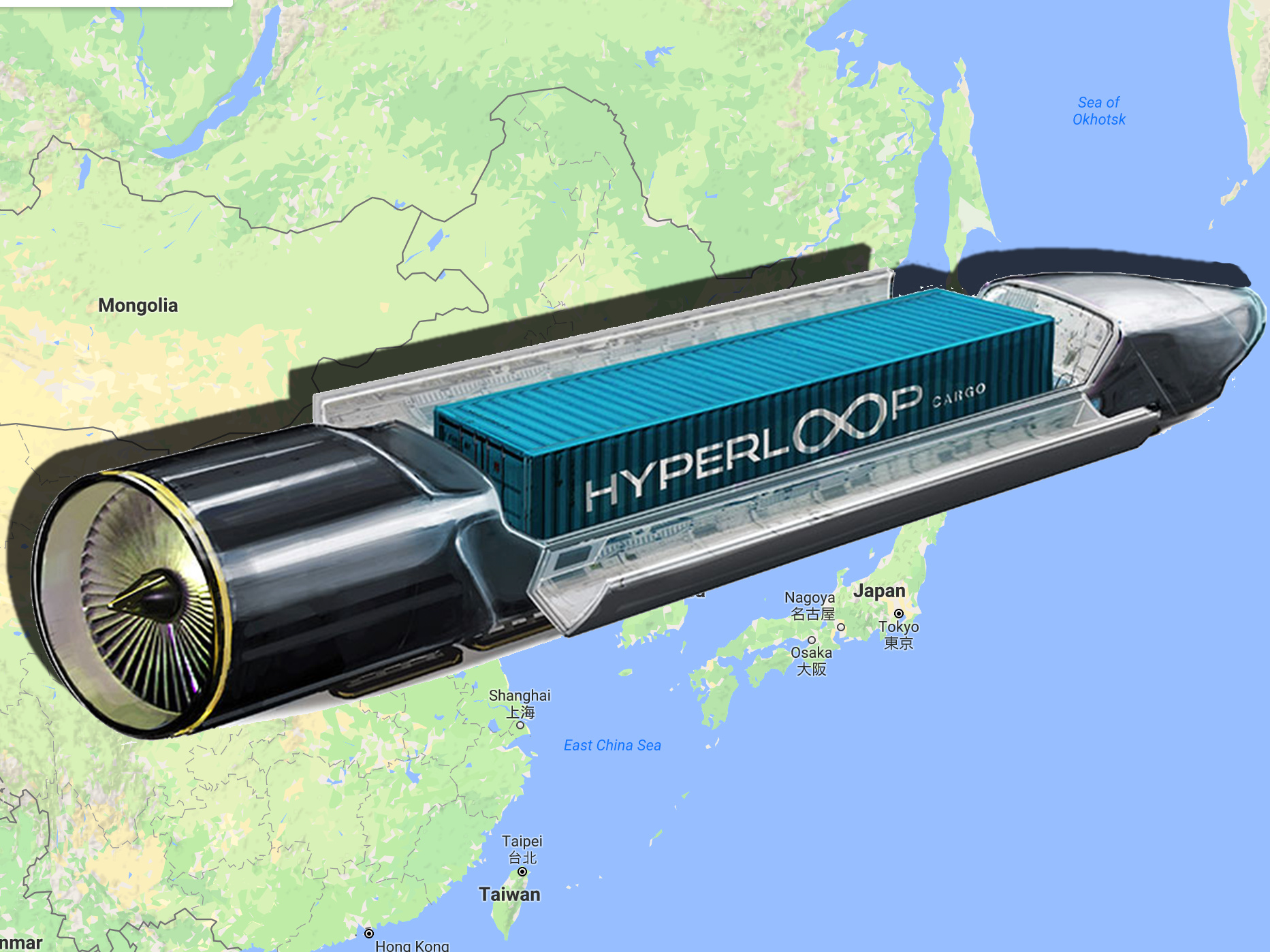 Hyperloop One Nudges Forward Plans for Shipping Route in China
