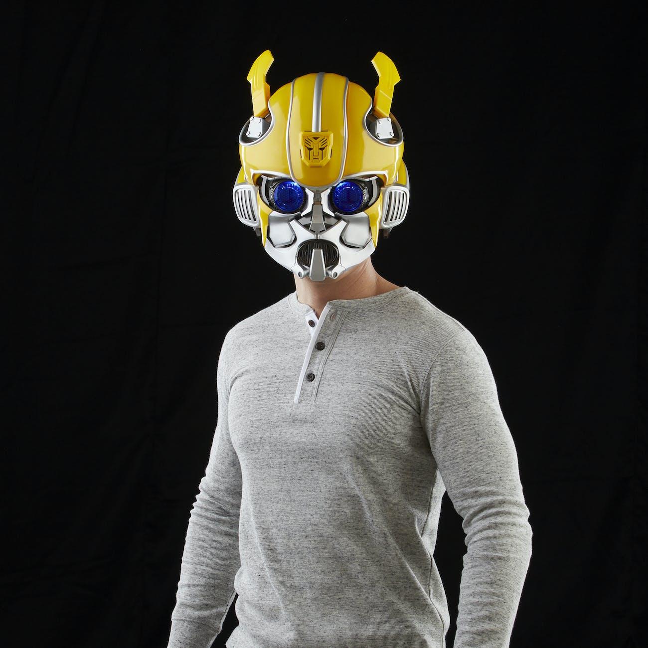 Transformers Bumblebee Helmet Bluetooth