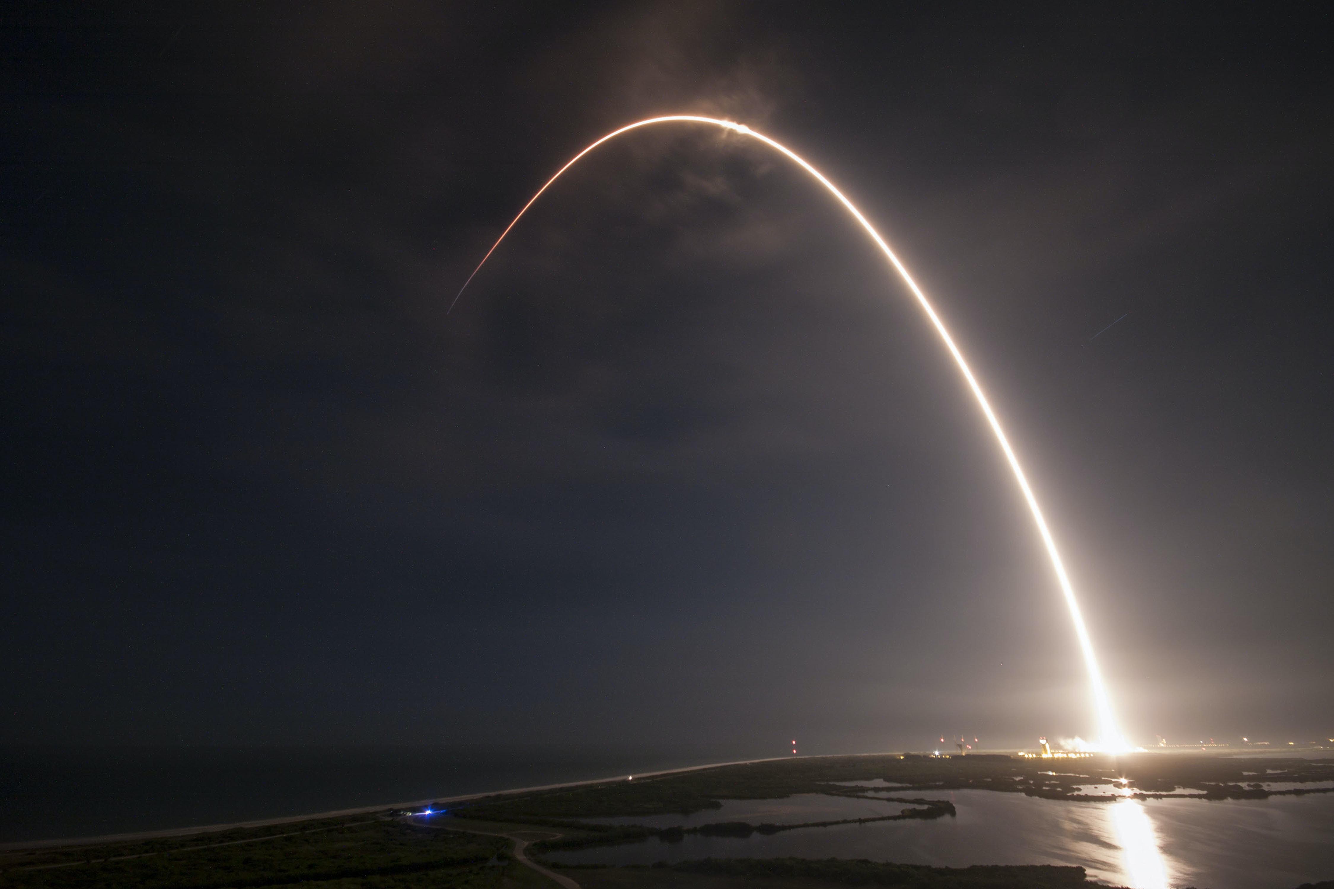 Falcon 9 Launch Trajectory