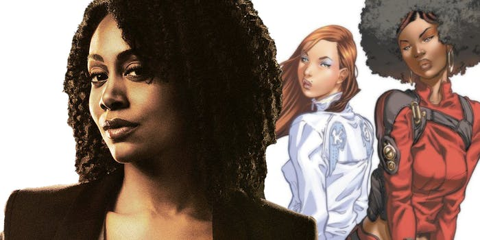 Marvel Daughters of the Dragon Simone Missick