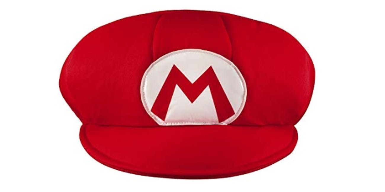 Super Mario Bros. Mario Adult Costume Hat & Mustache