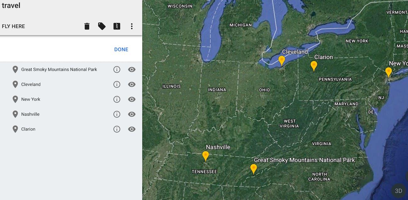 10 Google Earth Hacks   Inverse