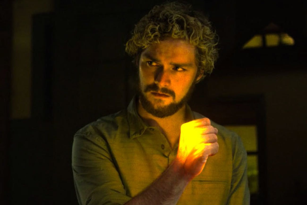 Danny Rand is the immortal Iron Fist.